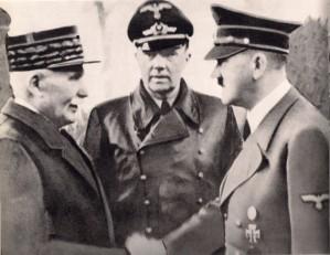 Petain--con-Hitler