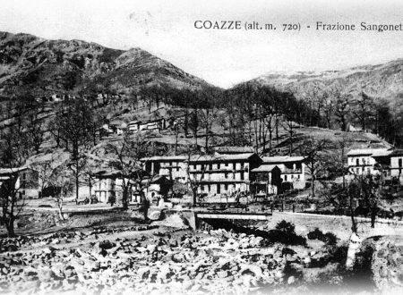 Coazze-Forno, ponte di Borgata Sangonetto