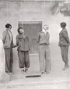 impiccagione ten Michele Cordero di pamparato Campana 17 6 44 con Giorgio Baraldi Vitale Cordin Giovanni Vigna