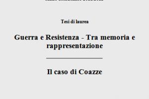 """Mortara Andrea – """"Guerra e Resistenza – Tra memoria e rappresentazione"""""""