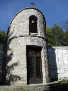 ossario cappella esterna