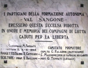 ossario lapide cappella