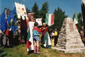 Colle Bione (Coazze, Sant'Antonino, Vaie)  –  Cippo Caduti Valsusa Val Sangone